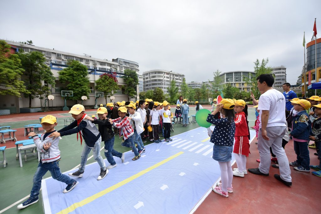 China Walk Wise 4th UN Global Road Safety Week Kaizhou District