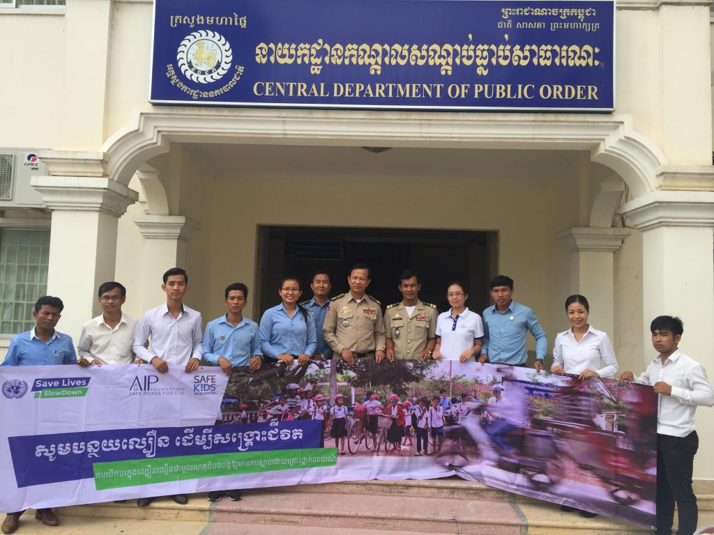 YARS Phnom Penh Cambodia National Traffic Police Global Road Safety Week