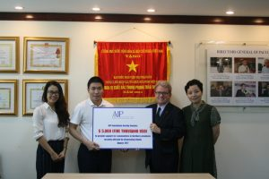 AIP Foundation donates $5,000 USD in emergency relief to Vietnamese communities damaged by flooding