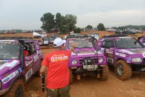 President and Founder spotlighted at Vietnam's annual off-road car racing tournament Vietnam September 2017