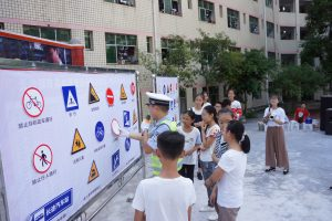 Walk Wise helmet curriculum China September 2017