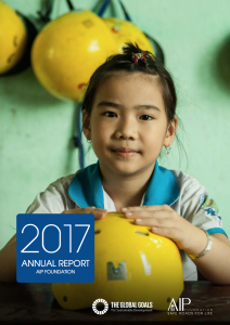 AIP Foundation's 2017 Annual Report reflects on progress toward saving lives.