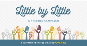 Donate to AIP Foundation through the Little by Little Matching Campaign.