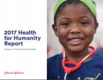 Johnson and Johnson tackles a myriad of global health issues including road safety in 2017 Health for Humanity report.